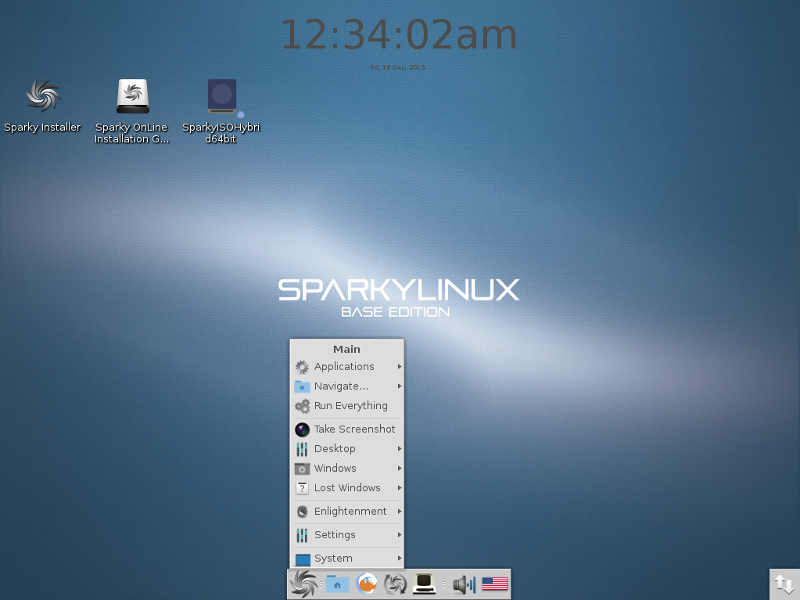 SparkyLinux Project Top Page - OSDN